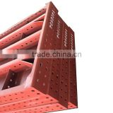 customized heavy duty steel metal shelf parts