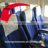 Airlaine headrest cover traine headrest cover,airline disposable headrest cover useful and competitive price