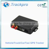 GSM/GPRS Tracking System, AVL Vehicle Locator with 850/900/1,800/1,900MHz, Low-battery Alarm