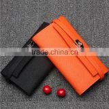 Latest New Factory Direct Price Genuine cow Leather Wallet Manufacturers Women
