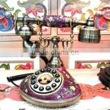 Home deco wooden telephone trends Furniture