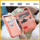 Manufacturing Home&Travel Cable Organizer Case Storage Bag for money ,Passport,ID card