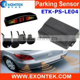 2016 new design car parts accessories car reverse parking sensors front bumper sensor kit