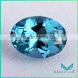 Wuzhou Gems Processing Loose 120# Synthetic Oval Shape Diamond Spinel