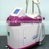 Vascular Treatment Three Big Spot Handle Big Cooling Systems Shr IPL Fine Lines Removal Beauty Hair Removal Machine For Skin Rejuvenation Wrinkle Removal Eight Device Breast Enhancement