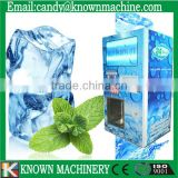 Ice cube bag making machine and Quality Cube Ice Vending Machine With Auto Bagging and Sealing Function