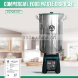Industrial 3 in 1 Food Processor Blender Food Waste Disposer