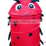 cute animal appearance pop up decorative laundry hamper for lovely baby laundry bag
