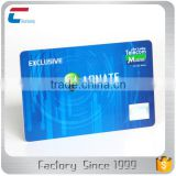 13.56mhz RFID business size MIFARE Plus 1K contactless NFC smart card