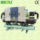 HUALI high quality shell and tube type condenser R407C water chiller china with heat recovery
