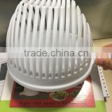 Foodgrade plastic salad maker/Salad Slicer Maker /salad cutter bowl for Kitchen