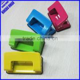 2014 office colorful 2 hole punch,novelty metal two hole paper punch