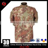 Twill 210gsm custom Flecktarn German desert camouflage tactical combat ACU military uniforms