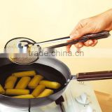 Multi-functional Stainless Steel Bread Clamp BBQ Barbecue Vegetable and Fried Potato Clip Kitchen Tools