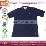 Latest Design Short Sleeves Embroidery Logo Turn-down 150gsm Custom Cotton Uniform Polo Shirt
