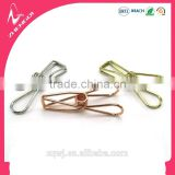 32mm 55mm 70mm rose golden silver copper colors longtail wire folder binder clips for creative practical stationery supplies