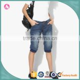 China Suppliers Denim Shorts Elastic Lyocell Denim Fabric Woman Clothes