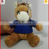 Promotional keychain Type and Zinc alloy,Metal Material zinc alloy stuffed animals toy keychain