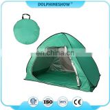 Hot sell Custom logo Outdoor Sun Shelter Shade Cabana Automatic Pop Up Beach Tent for 2-3 Person