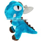 CE Certification Plush Blue Color Dinosaur Keychains 2017 Funny Big Eyes Stuffed Soft Animal Toy Plush Dragon Pendant