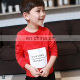 T-BH502 Fashion Boys Custom Printed Design Crewneck Sweatshirt Kids