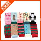 Wholesale winter knit lace leg warmers baby