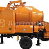 The mini concrete mixer pump