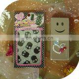 2013 Custom Skull Design Mobile Phone Jewelry Stickers