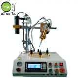 Four-position circular glue dispensing machine