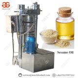 hydraulic edible sesame oil press machine for sale quality hydraulic oil press machine
