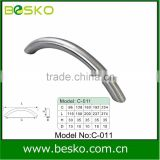 new stainless steel arc door handle with high quality