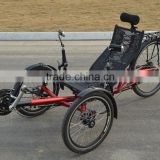 Suspension Folding Recumbent Trike