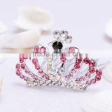 wedding tiara FZZ- 048 wholesale Rhinestone color