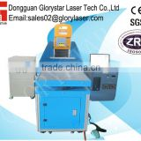3D Dynamic focus laser marking machine for footwear industries GLD-275 with Germany metal laser tube