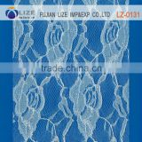 cheap embroidery lace fabric dubai,bridal french lace fabric,wedding dress lace suppliers lz-0131