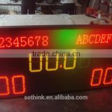 full color multi-sport indoor/outdoor led display screen magic board