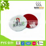 recycled rubber coaster soft pvc coaster