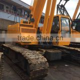 XCMG XGC55 55t telescopic boom crawler crane used condition XCMG made in 2015 XGC55 55t telescopic boom crane for sale