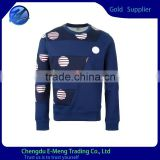 Newest Style High Quality Wholesale Uhshrinkable Cotton Custom Brand Sweatshirts