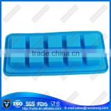 Factory stock easy using square silicone ice tray ,ice mold