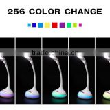 Relieve visual fatigue 5w RGB color built in battery rechargeable led table lamps                                                                         Quality Choice