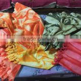 Round beach wrap up 100% COTTON Peshtemal sexy beach dress napthol dye hammam towel fouta tunisian fouta pareo kikoy peshtemal