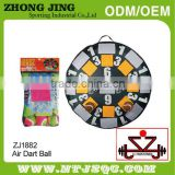 New and hot top quality mini velcro dart board games for fun