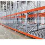 Warehouae storage shelving push back pallet racking