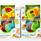 Item No.AL018838,Musical Instrument Set,with light and music, Keystroke and car,2 styles,Toy for baby