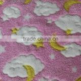 100% polyester coral fleece fabric double side brushed