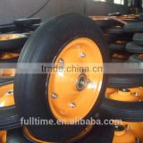 High Quality manufacturer wheelbarrow solid rubber wheels for carts 350-4 400-8-8 3.50-6 3.50-8