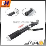 High Power LED Aluminium Riot Baton Flashlight, Zoom, Emergency Hammer, 100% bright, 50%bright, Strobe, 180lm