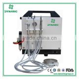 CE FDA approved portable dental unit DU-895 portable dental suitcase portable dental unit with air compressor