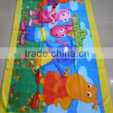 high quality cotton beach towel/reactive printed beach towels AZO free